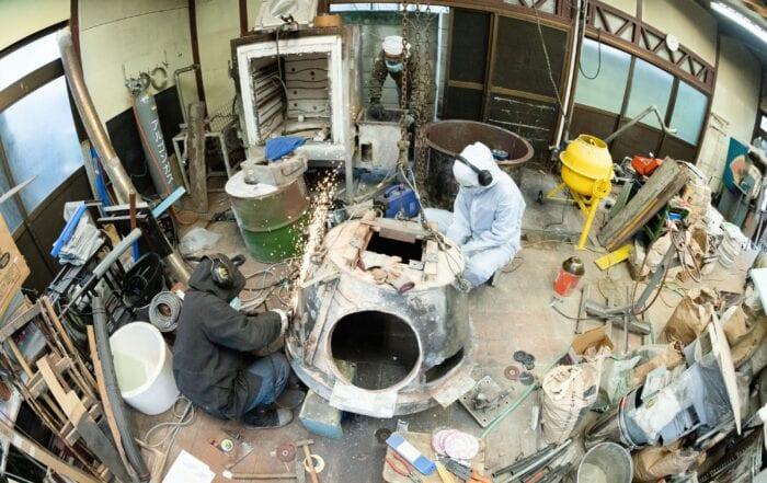 青樹舎硝子工房リニューアル工事イメージ写真